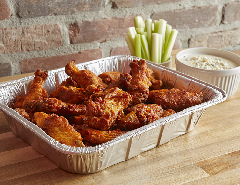 Apple Spice Wings (Min 15)