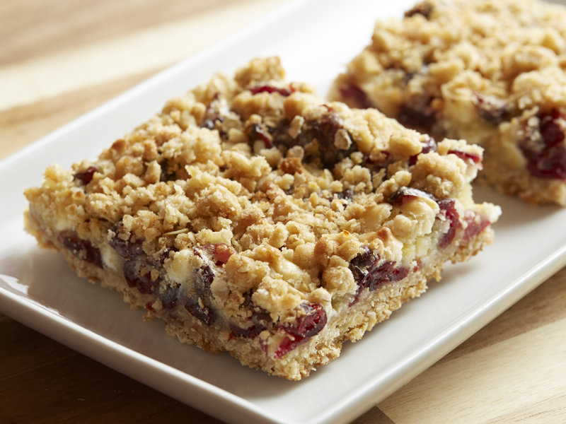 Sour Cream Cranberry Bar
